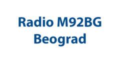 Radio M92BG Beograd